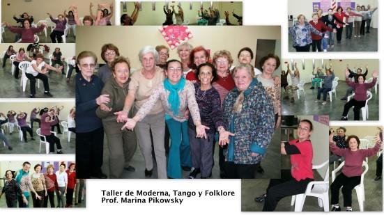 Danza Moderna  Tango y Folklore Prof.Marina Pikowski
