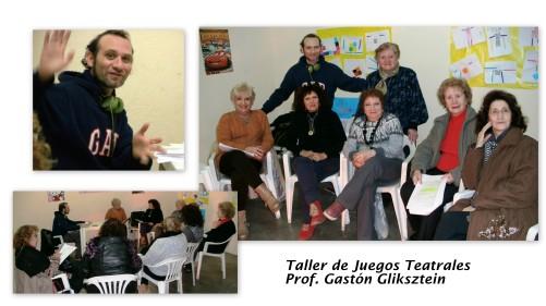 Jgos teatrales Prof. Gastón Gliksztein