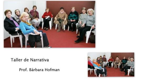 Narrativa Prof. Bárbara Hofman