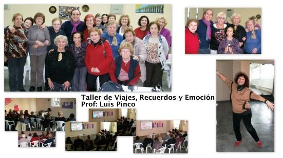 Taller de Viajes Recuerdos y Emoción Prof. Luis Pinco