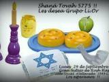 Shaná Továh 5775 Les desea Grupo Li-Or delC.S.H.A