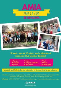 flyer AMIA para la vida 2015