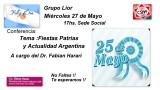 Grupo Lior CSHA  Actividad Extraordinaria Miércoles 27 de mayo17hs