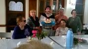 festejando el cumpleaños del coordinador