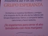 ESPERANZA MUESTRA ANUAL2015