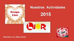 Nuestras Actividades 2015
