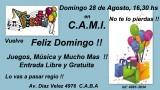 CAMI / DOMINGO 28 de AGOSTO / Gran FiestaGran